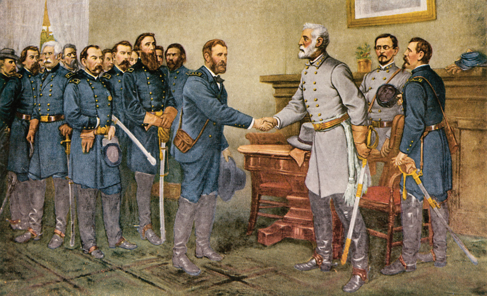Men of Honor - Genral Lee surrenders to Grant