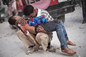 syria father dead son