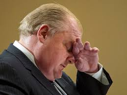 rob ford forehead
